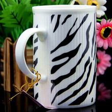 Creative ceramic art mug drinking water container handle coffee milk cup