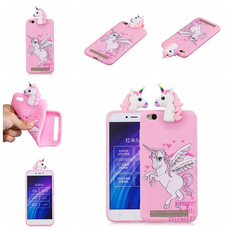 note 5 phone cases KeFo For Xiaomi Redmi 5A Note 5A Phone Cases 3D Squishy Animals Case Silicone Cover for Xiaomi Mi 5X MiA1 Mi5X (8)