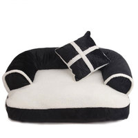 60*40cm Comfortable Soft Cat Bed Mini House for Cat Pet Dog Sofa Bed Good Products for Puppy Cat Pet Dog Supplies Large Lounger