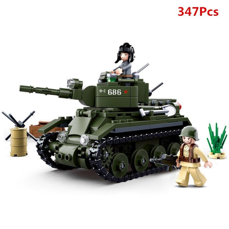 Blocks Toys & Hobbies World War Ii Ww2 Building Blocks Panzerkampfwagen Iv Tank Army Soldier Figures Educational Bricks Toys Compatible With Lego