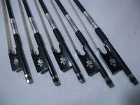 Violin bows bow natural horseshoers carbon fiber ebony violin accessories