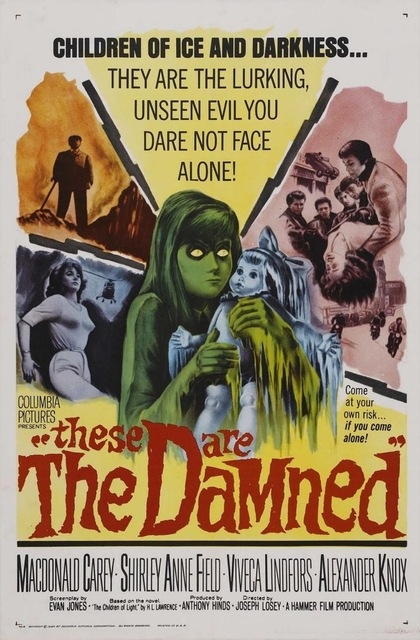These Are the Damned the Black Lagoon Horror Movie Film Retro Vintage Kraft Poster Canvas Painting Wall Sticker Home Decor Gift