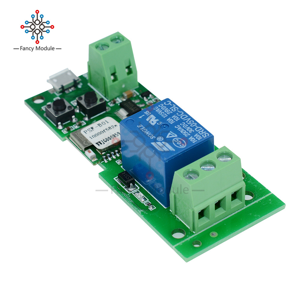 US $5 29 |5V 12V Sonoff WiFi Wireless Smart Switch Relay Module For Smart  Home Apple for Android IOS-in Relays from Home Improvement on  Aliexpress com