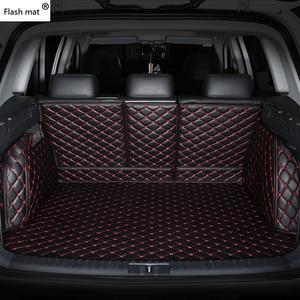 Image 1 - פלאש מחצלת עור רכב תא מטען מחצלות עבור BMW e30 e34 e36 e39 e46 e60 e90 f10 f30 x1 x3 x4 x5 x6 1/2/3/4/5/6/7 רכב מטענים ריפוד