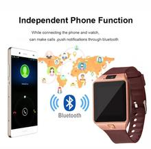 DZ09 Bluetooth Smart Watch Phone Mate Sports GSM SIM Camera  wearable device For iPhone Samsung Android
