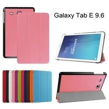 Kst magnética smart cover case para samsung galaxy tab e 9.7 t560 t561 9.6 tablet case tirón de la cubierta protectora shell