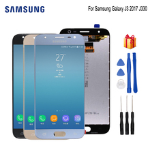 For SAMSUNG Galaxy J3 2017 J330 J330F PRO LCD Display Digitizer Screen Phone Parts