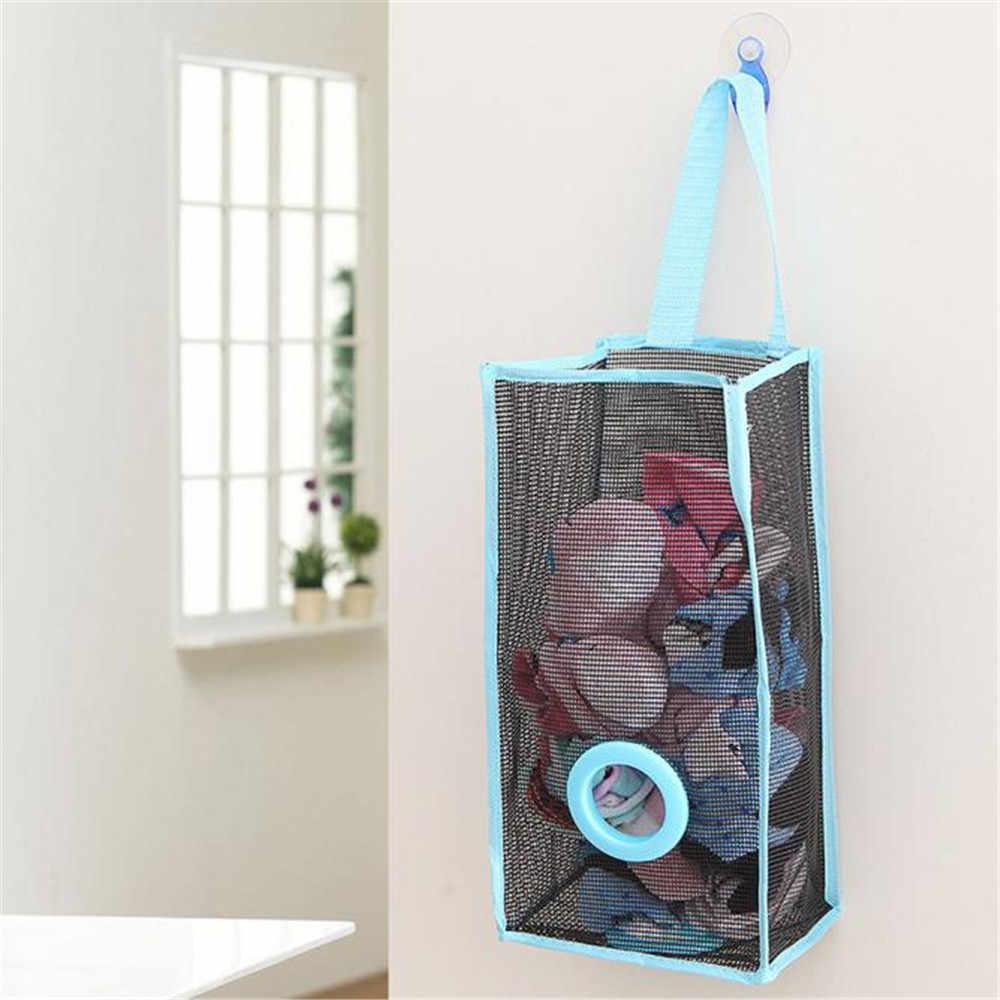 OCARDIAN 2 pc Tipo Respirável Malha Grade Saco de Armazenamento Sacos De Lixo de Cozinha Pendurado Extração Conveniente Bag Bolsa Nov5 Navio Da Gota