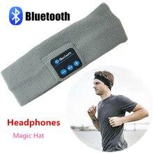 Dispositifs Portables intelligents Stéréo Magique Musique Bandeau Sport Bluetooth Sans Fil Casque Avec Répondre À L'appel pour l'iphone SmartPhone