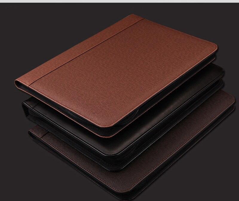 Tragbar Aktenordner Folder A4 Dokument Ordner Büromaterial Ordner Schwarz