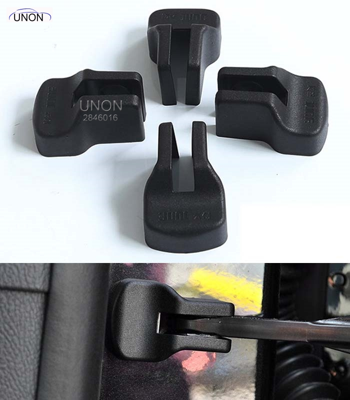 4pcs/lot Car styling Door Check Arm Protection Cover For Chevrolet CRUZE 2009-2014,For Ford Kuga New MONDEO OPEL Explorer