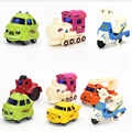 New Multi Cute Color Mini Hot Wheels Toy Car Model Miniature Cartoon Car Toy Bus Truck Kids Dinky Toys For Children Boy Gifts
