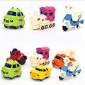 Nuevo Multi Color Lindo Mini Hot Wheels Modelo de Coche de Juguete En Miniatura de dibujos animados de Autobús de Juguete Coche Niños Camiones Dinky Toys Para Niños Boy regalos