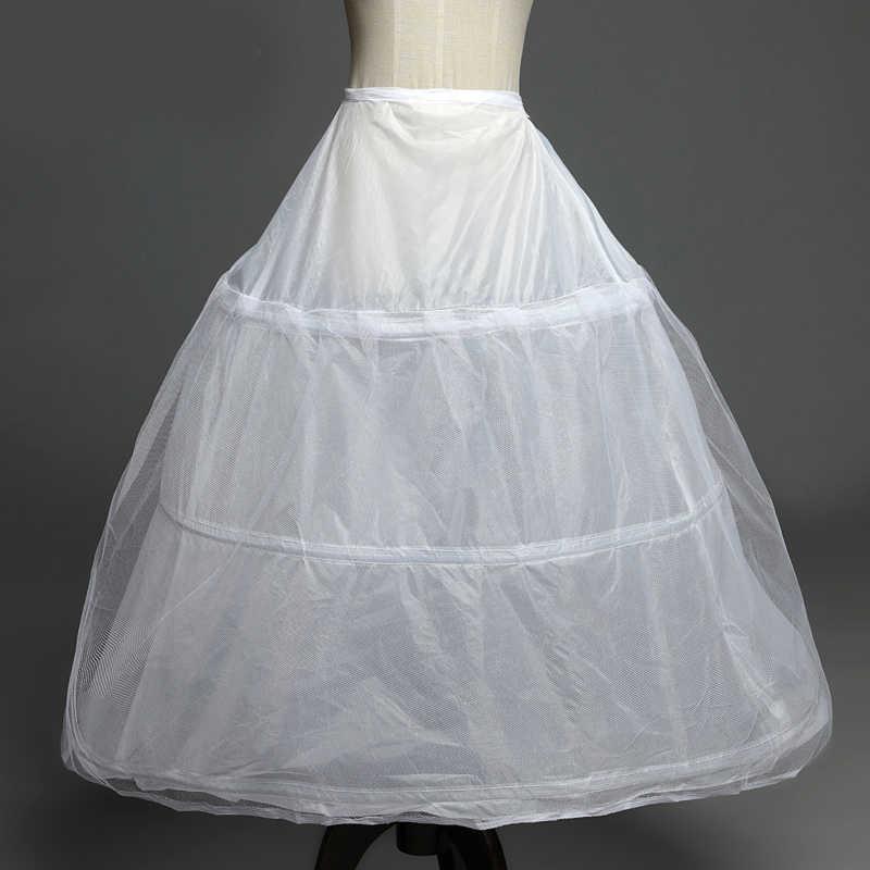 במלאי 3 חישוקי תחתוניות חתונה שמלת כלה אביזרי משלוח חינם קרינולינה זול תחתוניות עבור כדור שמלת 2016