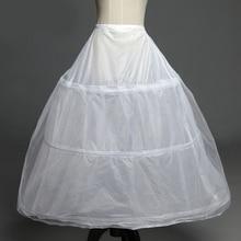 В наличии 3 нижние юбки с фижмами для свадебное платье Свадебные аксессуары Бесплатная доставка кринолин Дешевые нижняя бальное 2016
