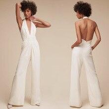 5be1b93ba16 MUXU fashion white backless jumpsuit one piece body women sexy woman  clothes mono mujer largo elegante