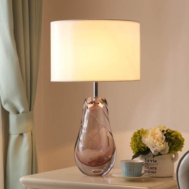 Post Modern Crystal Table Lamps New Design Ceystal Standing Lights