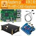 Raspberry pi Pi 3 модель B HIFI ЦАП + Аудио Звуковая Карта Модуль I2S интерфейс, Для Пэ3/Pi2 4 в 1 Комплект