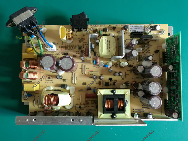 באיכות גבוהה מקורי עבודה אספקת חשמל לוח צהוב לוח עבור zm400 zm600 מדפסת ספקי כוח