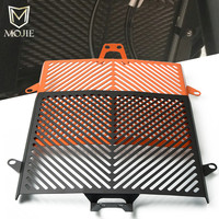 For KTM 1090 Adventure ADV 2017 Motorcycle Accessories Stainless Steel Radiator Grille Grill Guard Protector Cover Orange