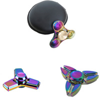Fidget Spinner AIBOULLY Hand Spinner High Speed R188 Bearing Titanium Alloy Toys Anxiety Stress Adults Kid