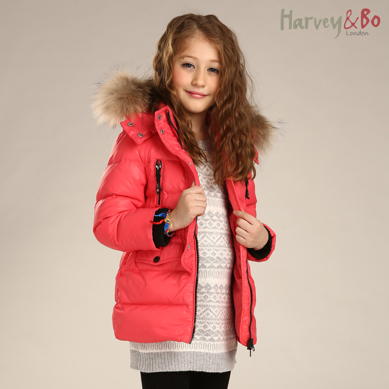 Aliexpress.com : Buy Harvey&Bo new fashion girls kids outerwear ...