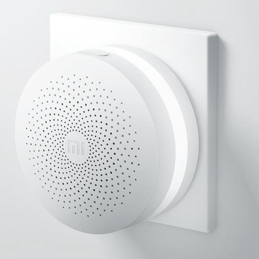 Update Version Original Xiaomi Mijia Smart Home Multifunctional Gateway 2 Alarm System Intelligent Online Radio Night Light Bell