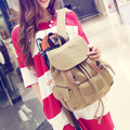 Simple fresh design Korean style canvas women backpack fashion girls leisure bag vintage travel bag