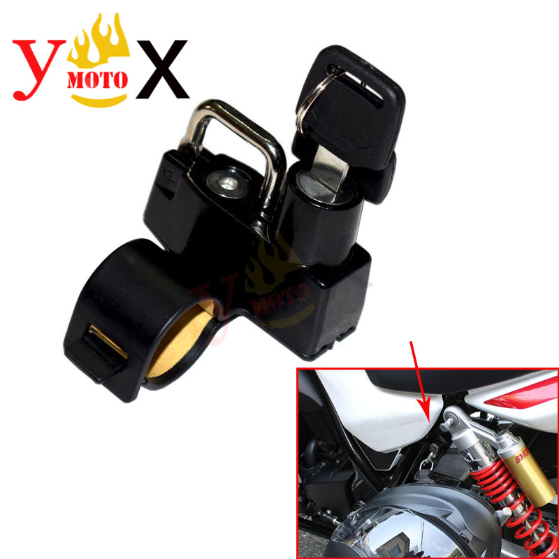 Motorcycle Helmet Lock W/ Keys Anti-thief For BMW F650GS F750GS F850GS R1200GS R1200R ADV S1000RR R Nine T Honda SUZUKI YAMAHA