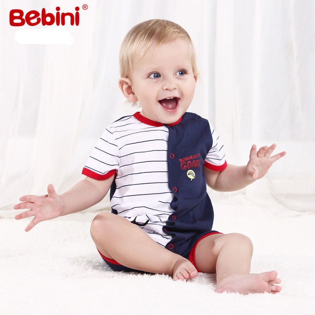 Newborns baby boy girl clothes summer baby bodysuits high quality Cotton baby bodysuits for Baby boy girl