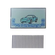 Display LCD starline A6 Trem para controle remoto carro Starlionr A6 display LCD cabo flexível