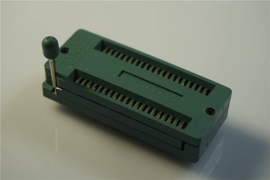 Test Tool IC DIP ZIF ZIP Socket 42 Pin Pitch 1 78 mm 1 778 Press-Fit Dual  Row Spacing 15 24 mm 0 6