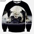 Newsosoo nuevo diseño Especial camiseta de los hombres grandes del perro del Barro Amasado 3D impreso sudaderas con capucha de los hombres y las mujeres pueden usar Harajuku Sudadera XS6