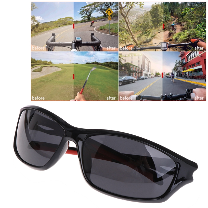 Glasses Fishing Cycling Polarized Outdoor Sunglasses Travel Sport UV400 For Men #35/7W