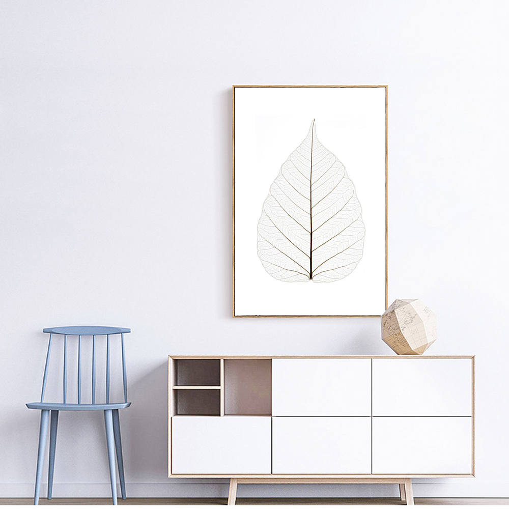 Plant Leaves Canvas Print No Frame Picture Nordic Wall
