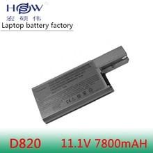 9 cells Laptop Battery For Dell Latitude D820 M65 0310-9122 451-10308 451-10326 DF192 DF230 DF249 FF232 GX047 XD736 YD624 YD626 аккумуляторная батарея для ноутбука dell battery atg primary 9 cell для e6540 e6440 e6440 451 12135 451 12135