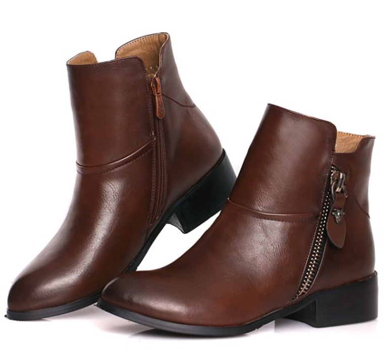 Cheap Black Leather Boots Promotion-Shop for Promotional Cheap ...
