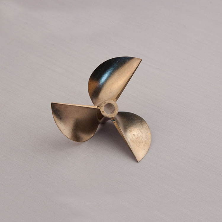 1pc High Quality 70mm 3-blades Copper Alloy Paddle Inner Diameter 6.35mm Propellers For RC Boats Racing 0-boat Accessories free shipping beryllium copper 3 blades boat paddle propellers fit for rc 26cc 30cc gasoline boat racing boat diameter 67mm 70mm