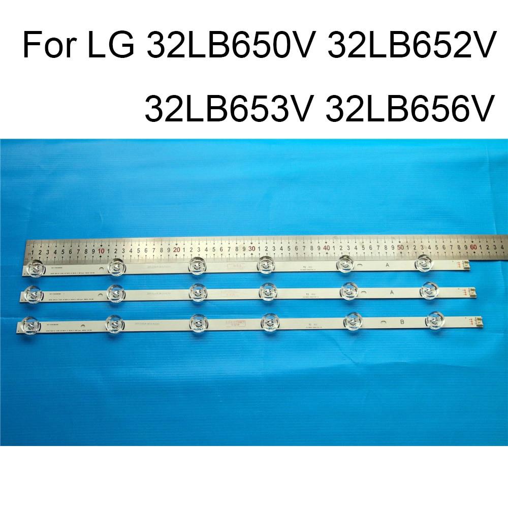 Brand New LED Backlight Strip For LG 32LB650V 32LB652V 32LB653V 32LB656V TV Repair LED Backlight Strips Bars A B TYPE Original