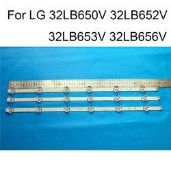 Zupełnie nowa listwa oświetleniowa LED do LG 32LB650V 32LB652V 32LB653V 32LB656V TV naprawa listwa oświetleniowa LED s bary A B typ oryginalny w Osłony i elementy nadwozia od Elektronika użytkowa na