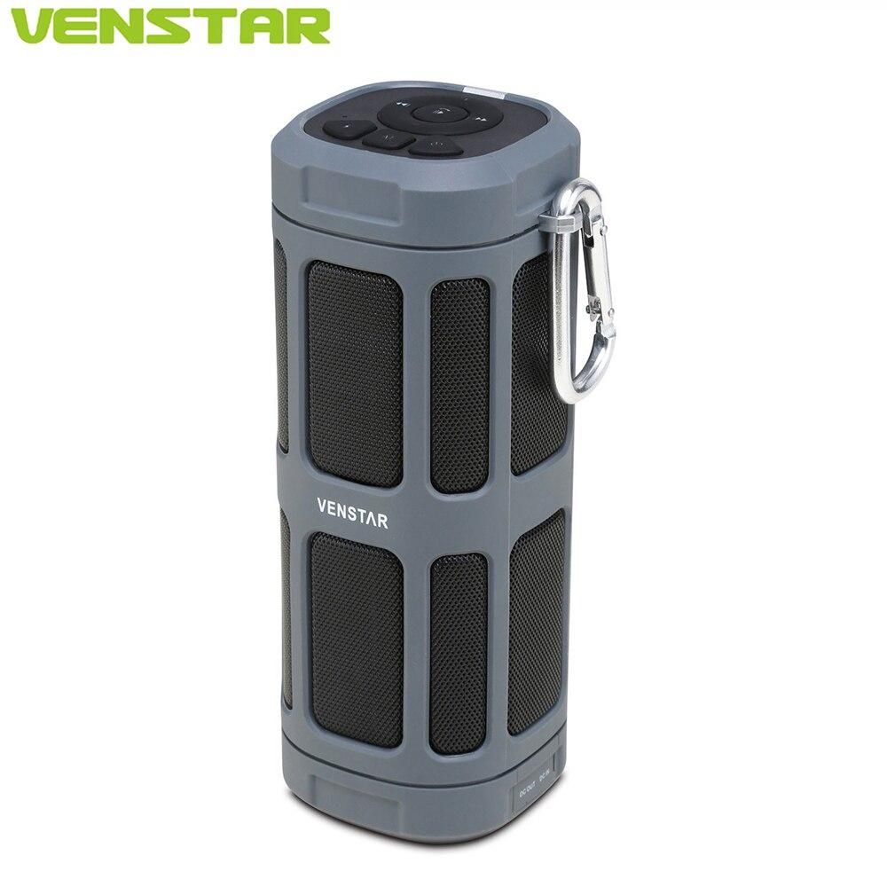 VENSTAR S400 Крутая портативная водо/пыле непроницаемая колонка мощностью 16 Ватт cо встроенным сабвуфером и батареей на 6000 мАч для велосипеда и а...