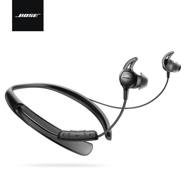 Bose QuietControl 30 Wireless Headphones Noise Cancellation Bluetooth Headset Neckband Sport Music Earphone In-line Control Mic