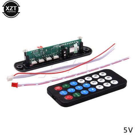Hot Sale DC 5V 12V Micro USB Power Supply TF Radio MP3 Decoder Audio Board For Car Remote Music Speaker Pakistan