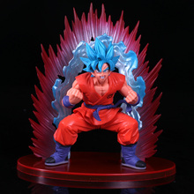 Dragon Ball Z Super anime cartoon Super Blue son goku action font b toy b font