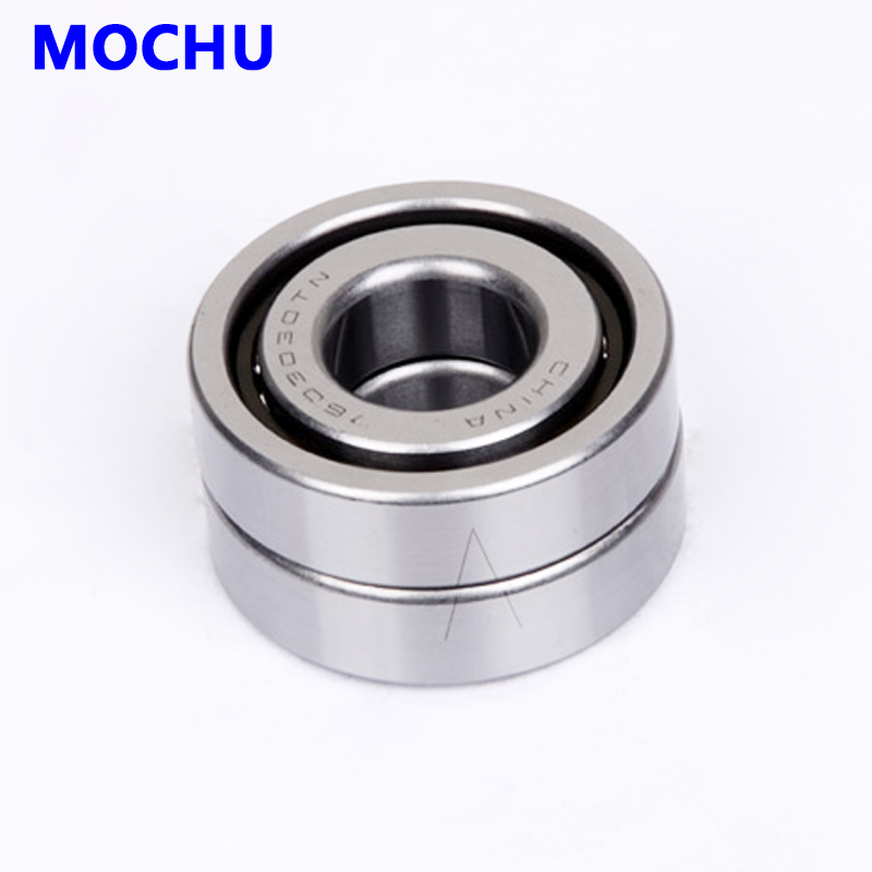 Free shipping 1 pair 7603030TN P4 DB Ball screw bearings 30X72X19 760306 7603030 30TAC03A BSA306C P4 Angular Contact Bearing