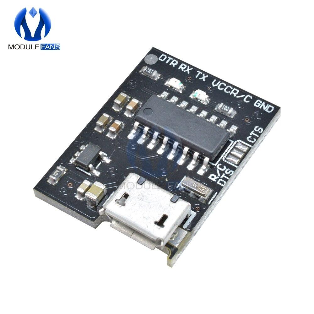 Para wemos ch340g ch340 breakout 5 v 3.3 v micro usb para placa de módulo serial para arduino downloader pro mini