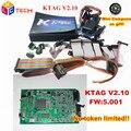 Top Rated K TAG ECU Programmer KTAG V2.10 FW 5.001 No Tokens Limitation K TAG 2.10 Master Version ECU Chip Tuning Tool