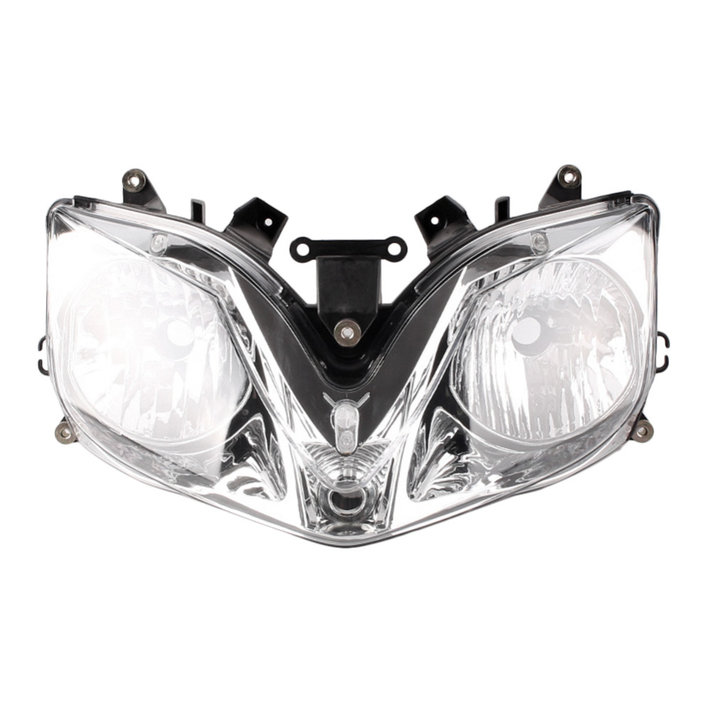 Farol da motocicleta para Honda CBR 600 F4i 2001 2002 2003 2004 2005 2006 2007 Frente Faróis Farol de Iluminação Da Lâmpada de Luz