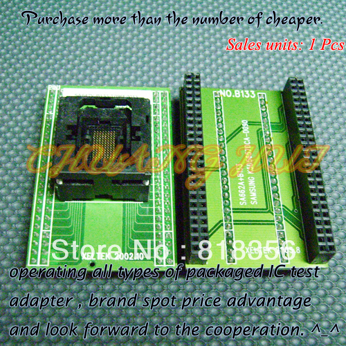 SA642V-B133-T096F001Y Programmer Adapter UBGA96/D96 BGA96 Xeltek Programmer Adapter Pitch=0.8mm