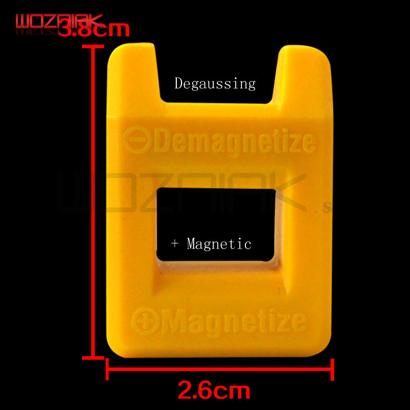 Wozniak DIY Mini Magnetizer Demagnetizer Magnetic Pick Up Tool For Screwdriver Tips Screw Bits